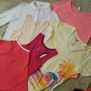 Blouses, T-shirts & Tanks 10-bundle